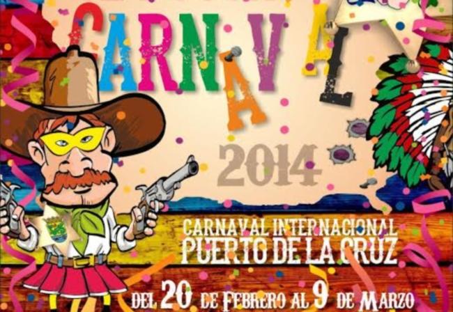 Programa de actos del carnaval 2014