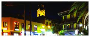 Puerto dela Cruz de noche