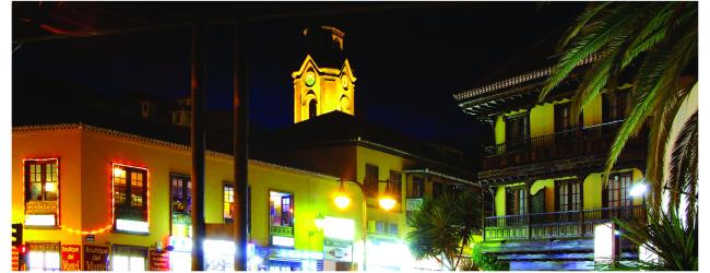 Noche en Blanco en Puerto de la Cruz
