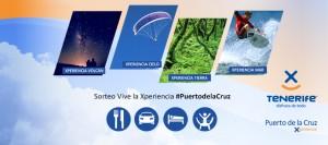 Sorteo Vive la Xperiencia #PuertodelaCruz