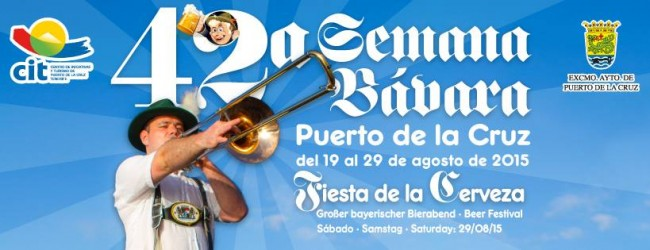 Bavarian week in Puerto de la Cruz