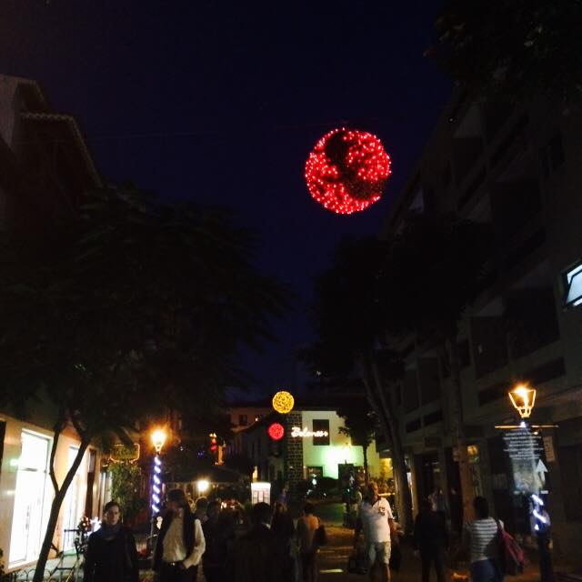 Luces de Navidad Puerto de la Cruz