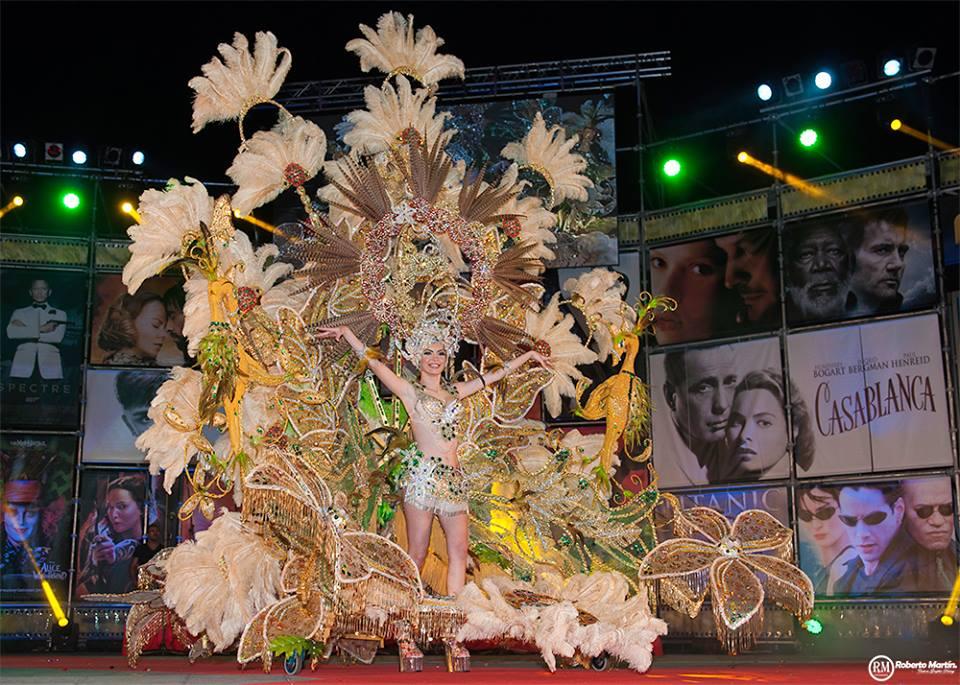 Reina del Carnaval Puerto dela Cruz